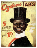Vintage Ogdens Cigarettes Sign 9x12
