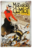 Vintage Motocycles Comiot Sign