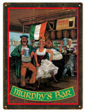 Vintage Murphys Irish Bar Sign 9x12