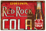 Vintage Red Rock Cola Sign