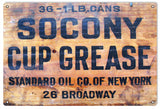 Vintage Socony Oil Sign