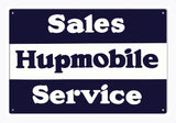 Hupmobile Service Sign
