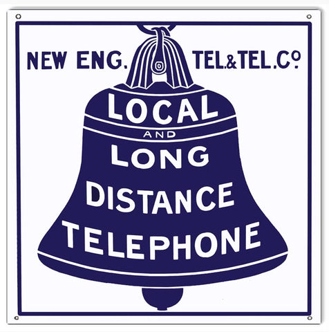 New Eng. Telephone Sign 12x12