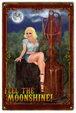 Vintage Feel The Moonshine Bar Sign