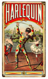 Vintage Harlequin Sign 8x14
