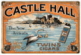 Vintage Castle Hall Cigar Sign
