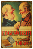 Vintage Edgeworth Tobacco Sign 12x18
