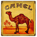 Vintage Camel Cigarettes Sign 12x12