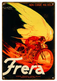 Vintage Frera Motorcycle Sign