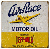 Vintage Deep Rock Motor Oil Sign 12x12