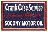 Vintage Socony Motor Oil Sign