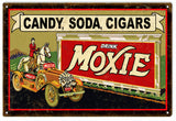 Vintage Moxie Drink Sign 16x24