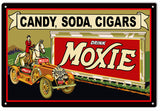 Moxie Drink Sign 16x 24