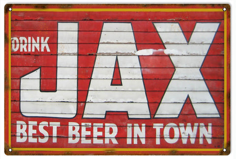Vintage Jax Beer Sign