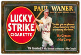 Vintage Lucky Strikes Cigarette Sign