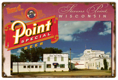 Vintage Point Special Beer Sign