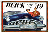 Vintage 49 Buick Sign