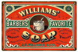 Vintage Williams Soap Sign