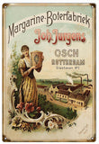 Vintage Margarine Boterfabriek Sign