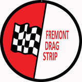 Fremont Drag Race Sign 14 Round
