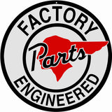 Factory Parts Engineered Sign 14 Round