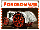 Vintage Fordson Tractor Sign 9x12