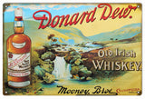 Vintage Donard Dew Whiskey Sign
