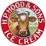 HP Hood And Sons Ice Cream Sign 14 Round
