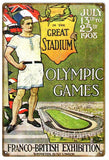 Vintage 1908 Olympic Games Sign