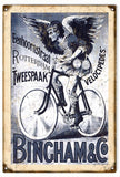 Vintage Bingham & Co. Bicycle Sign