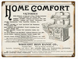 Vintage Home Comfort Range Sign 9x12