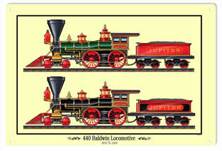 RG215 Two 440 Engines Sign