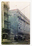 Vintage San Francisco Grand Hotel 1907 Sign