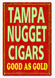 Vintage Tampa Nugget Cigars Sign