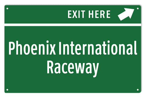Poenix International Raceway Sign
