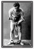 The Great Harry Houdini Sign 1218