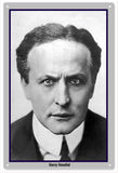 Harry Houdini His Face Sign 12x18 sign