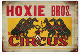Hoxie Brothers Circus Sign