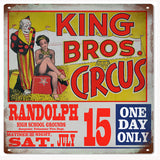 King Bros Circus Sign