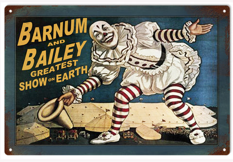 Barnum and Bailey Circus Sign