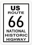Route 66 12x18 Sign