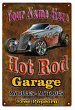Vintage Add Your Name To Hot Rod Sign 16x24