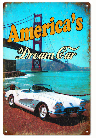 Americans Dream sign 12x18