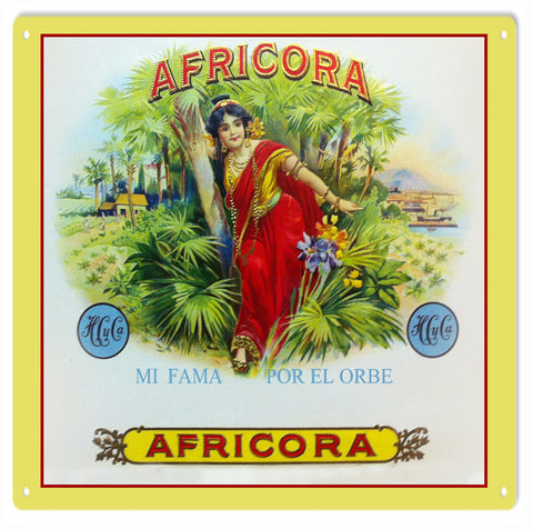 AFRICORA old time sign