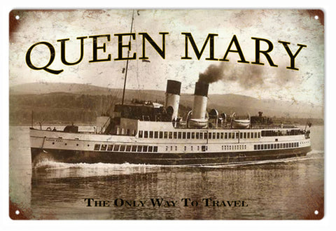 Queen Mary Ship Sign
