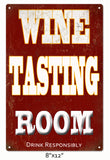 Wine Tasting Room Sign Bar Sign