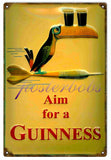 Vintage Guinness Beer Sign