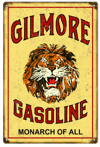Vintage Gilmore Gasoline Sign