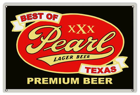 Pearl Premium Beer Sign
