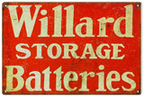 Vintage Willard Batteries